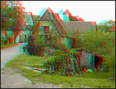 Loubressac 001 (kiwizone) Tags: red france stereoscopic 3d village cyan anaglyph badge loubressac redcyan kiwizone nzphoto johnwattie
