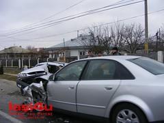 Accident rutier Audi A4