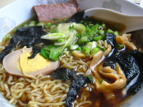 shoyu ramen noodles by takashi yagihashi
