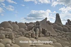 La Sirena y el mar (Nicolas Moulin (Nimou)) Tags: mar cuento arena kdd estatua tarragona reus sirena lapineda pesebre vilaseca fabula