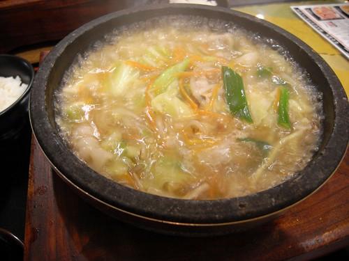 和風ちゃんぽん堂本舗-「石焼和風ちゃんぽん麺」