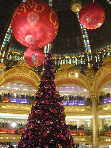 Sapin galeries Lafayettes