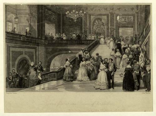 015-Gran fiesta en el palacio de Versalles 1871