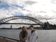 Sydney - Le Sydney Harbour Bridge (pencroff) Tags: voyage travel bridge vacances holidays sydney australia pont newsouthwales sydneyharbourbridge australie nouvellegallesdusud johnbradfield