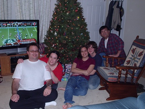 Christmahttp://www.blogger.com/post-create.g?blogID=3984614606291557780s Eve at Mom and Dad's house