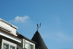 She might blow away (Robert Ogilvie) Tags: weathervane vane foundinsf waethervane