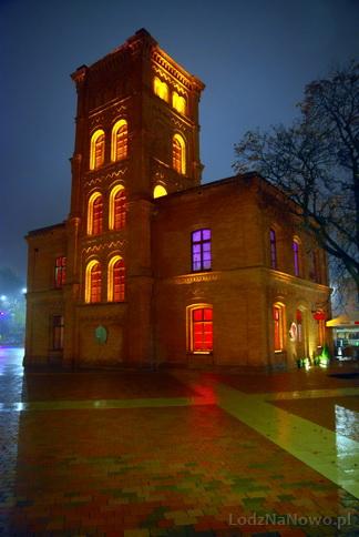 dawna remiza przy fabryce Poznańskiego (Manufaktura)