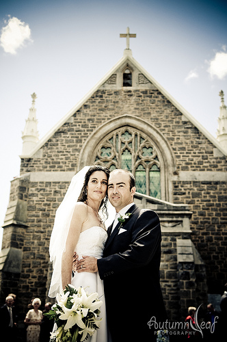 Yvette and Shane - Just Married