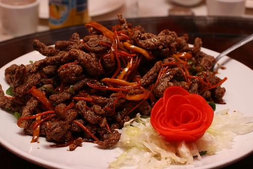 Crispy Mango Beef