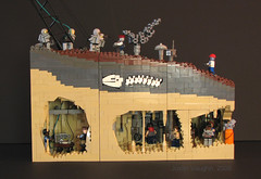 Bunker 282 (-Mainman-) Tags: control lego action bunker cave zombies 2008 moc 282 debatable i mainman welcometothefirstdayoftherestofyourlifeinbunker282 quantitiesof