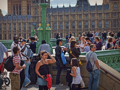 Tourists in London 3