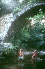 Sous le pont génois de Zipitoli en aval de Bastelica