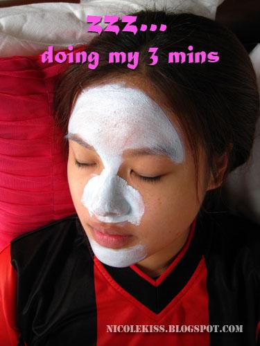 doing 3 mins rest