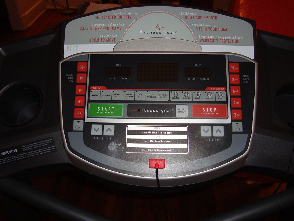 Treadmill Display Monitor
