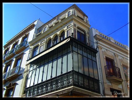 Edificio en la Calle Sierpes