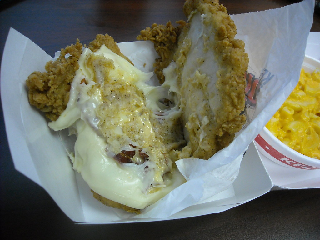 Inside the KFC Double Down