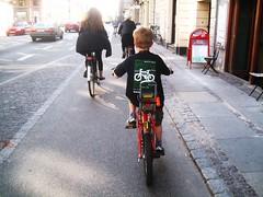 LCC in Copenhagen (Mikael Colville-Andersen) Tags: bike bicycle copenhagen chopper felix raleigh bikelane lcc londoncyclingcampaign cyclechic separatedinfrastructure