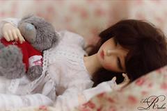 Sleeping beauty (elena ruko) Tags: bjd fairyland ruslana minifee rheia