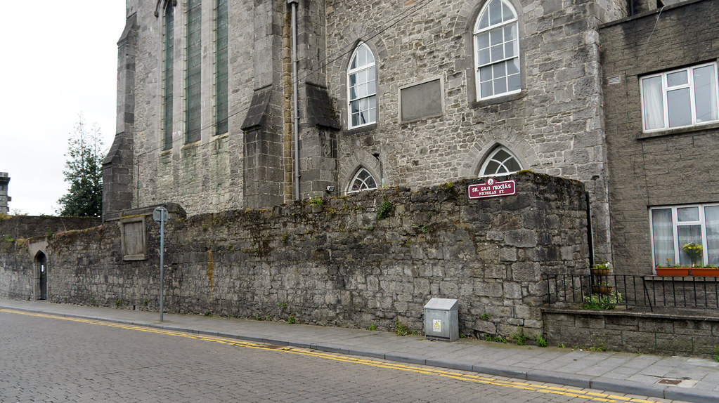 Limerick City - Nicholas Street was named after the long vanished medieval Parish Church of St. Nicholas