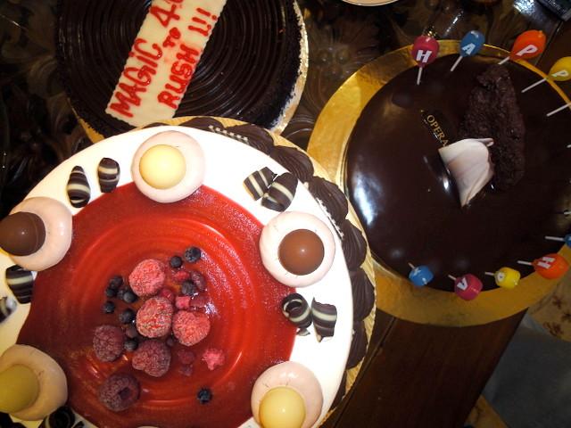 My birthday cakes