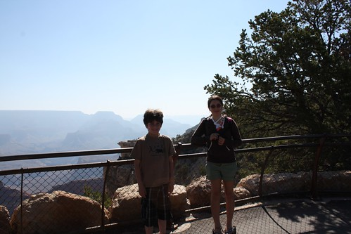 Ruth & Gage at Grand Canyon