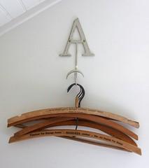 vintage.hangers (annamariahorner) Tags: white studio design clothing hangers wodden a
