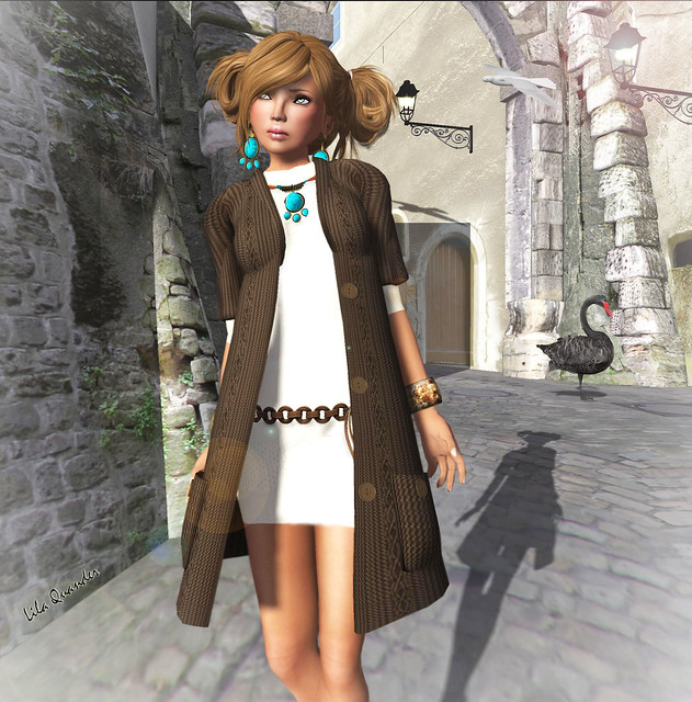 Fleshtone::BeigeRewindDress for TFG (Close)