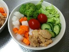 朝食サラダ(2011/6/27)