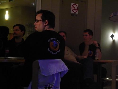 Mozilla Party at Crosby Bowling