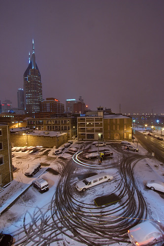 Snow in Nashville - photo courtesy of Chris Wage
