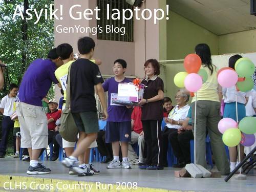 Get laptop