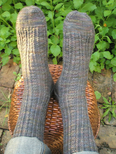 Retro Rib Socks