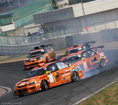 Hyper Meeting '08  (177 of 429) (Auto Otaku) Tags: orange japan speed team time rally attack meeting evolution subaru hyper tune tuning rev circuit impreza wrx sti legacy lancer colt mitsubishi jdm evo d1 drift tsukuba