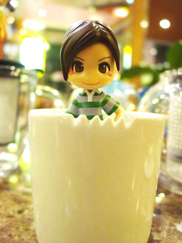 Let's have a cup of tea. :3