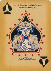 Starbucks Doonesbury Duke for Prez Cartoon Playing Cards