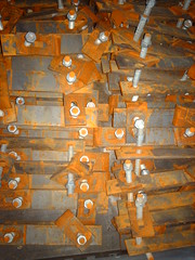 Inside a box of rusty tram track bolts (hugovk) Tags: camera red digital suomi finland spring helsinki rust track box rusty tram rusted april bolts inside helsingfors hvk 2008 nutsandbolts uusimaa kevt nyland nutsbolts nutbolt nutandbolt huhtikuu hugovk exif:ISO_Speed=50 imag3688 digitalcamerads5mp exif:Exposure=130 exif:Exposure_Bias=0100 exif:Aperture=300100 exif:Flash=25 ds5mp camera:Model=ds5mp camera:Make=digitalcamera exif:Focal_Length=770100 insideaboxofrustytramtrackbolts meta:exif=1364134290