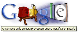 Primera proyección cinematográfica en España