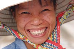 "Big big smile (SLpixeLS) Tags: street portrait people woman smile asia femme vietnam hoian asie rue sourire goldenglobe kartpostal aplusphoto earthasia ""worldwide travelogue"""