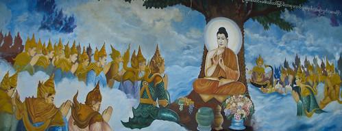 Mywaddi Temple Mural