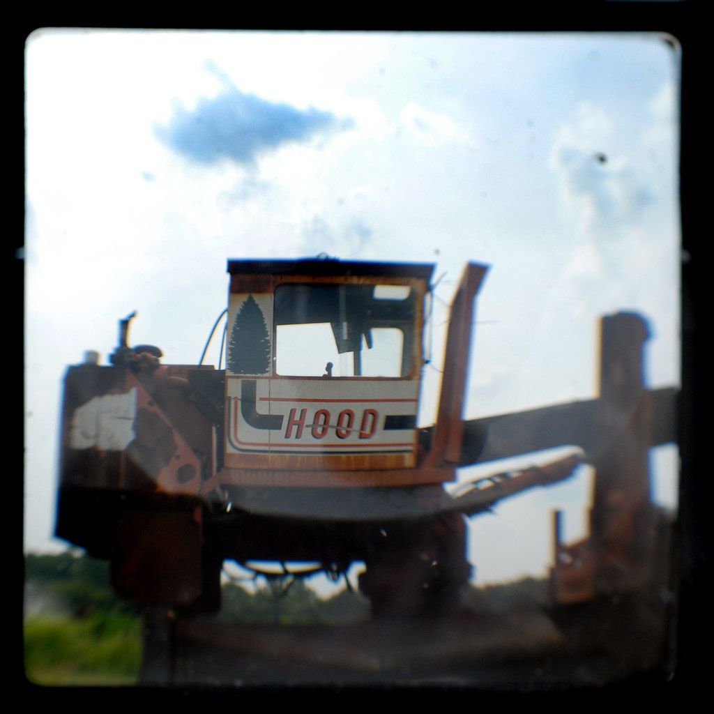 TTV - Hood Logging Equipment - Taken with Kodak Brownie Starflex