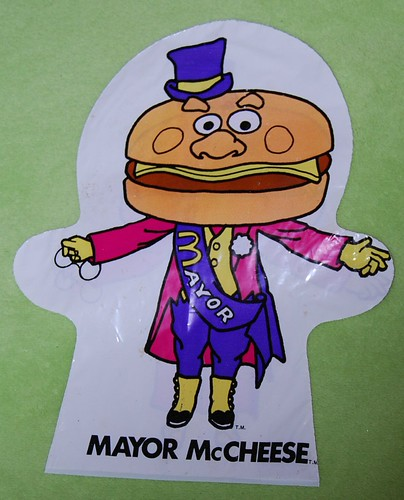 Mayor McCheese Puppet