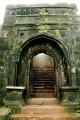 Fort Gate at the Raigad.