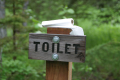 the toilet (kyle.leboeuf) Tags: alaska crescentlake