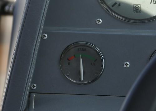LYING fuel gauge