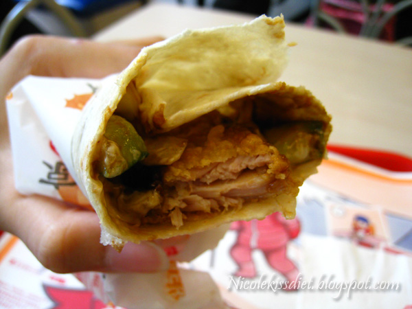 peking chicken wrap