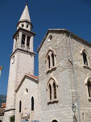 Katedrala sv. Ivana Krstitelja (kpmst7) Tags: tower church europe catholic exterior cathedral belltower balkans 2008 easterneurope montenegro eurasia southerneurope budva crnagora slav formeryugoslavia budua