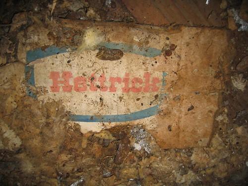 Hettrick box in the shack