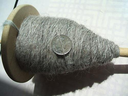 Grey alpaca