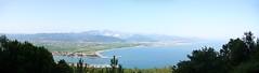 Bocca di Magra, Liguria (Nevica) Tags: sea panorama mountains montagne italia liguria coastline carrara adriatic laspezia boccadimagra lumixaward