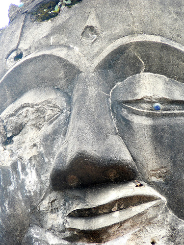 Ravaged Buddha, Laos